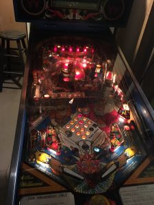 Nice playfield and now everything is lit!
