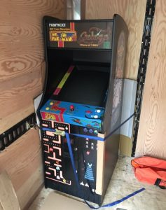 HUO Ms Pacman/Galaga Reunion machine